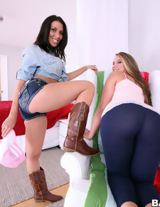Beautiful big butts, Nikki is a bomb ass baby with a huge fucking ass for a white girl. She could shake her big ass next to Rachel.