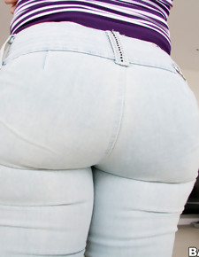 Phat nice butt photo, Krissy Lynn with big delicious ass