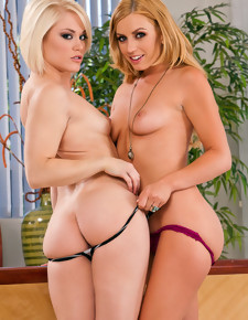 Ash Hollywood, Lexi Belle & Michael Vegas in 2 Chicks Same Time - Naughty America