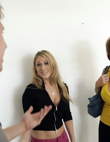 Deauxma & Danny Wylde in My Girlfriend's Busty Friend - Naughty America