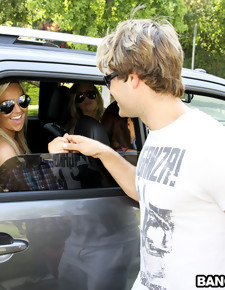Out of Gas with Katie Jordin, Abbey Brooks, & Samantha Saint