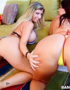 2 Big Asses To Bang
