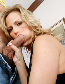 Becca Blossoms & Mikey Butders in Seduced By A Cougar - Naughty America