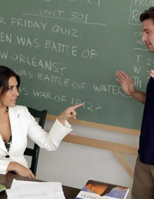 Raylene & Billy Hart in My First Sex Teacher - Naughty America
