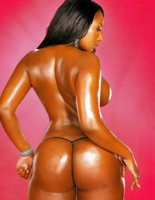 There's no skinny sallow girls here, only gorgeous black beauties less deliciously round booties