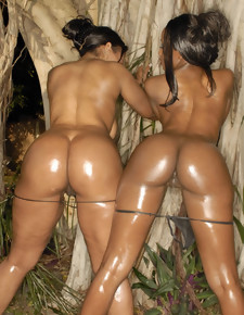 There's no emaciated white girls here, only gorgeous black beauties with deliciously round booties