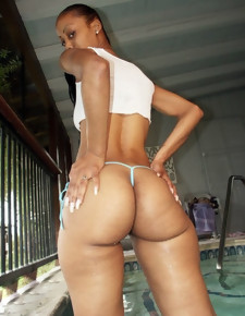 There's no skinny white girls here, simply gorgeous black beauties involving deliciously round booties