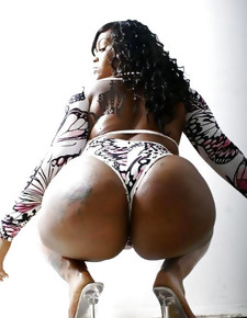 There's no skinny vapid girls here, only bonny unconscionable beauties with deliciously round booties