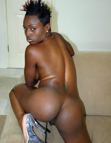 There's no skinny white girls here, only gorgeous black beauties with deliciously round booties