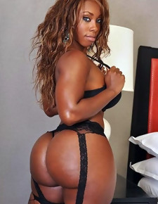 There's only slightly skinny white girls here, only gorgeous black beauties relating to deliciously round booties