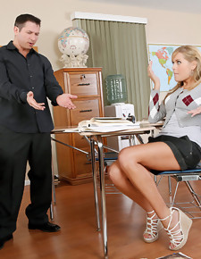 Darcy Tyler & John Strong in Naughty Bookworms - Naughty America