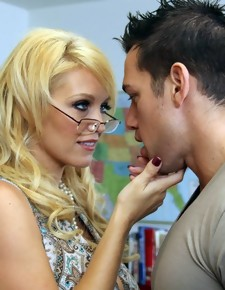 Charlee Chase & Johnny Castle in My First Sex Teacher - Naughty America