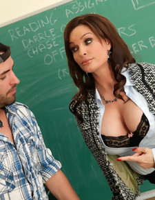 Diamond Foxxx & Kris Slater in My First Sex Teacher - Naughty America