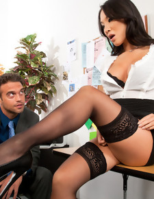 Asa Akira & Rocco Reed in Naughty Office - Naughty America