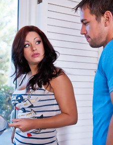 Angelica Raven & Johnny Castle in Neighbor Affair - Naughty America