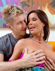Danny Wylde & Diamond Foxxx in My Friend's Hot Mom - Naughty America