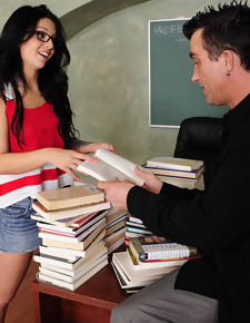 Madelyn Monroe & Billy Glide in Naughty Bookworms - Naughty America
