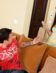 Alan Stafford & April O'Neil in My Sister's Hot Friend - Naughty America