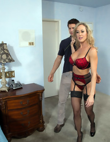 Brandi Love & Giovanni Francesco in My Friend's Hot Mom - Naughty America