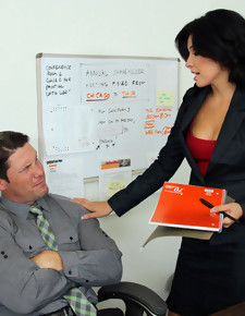 Danica Dillon & Aaron Wilcoxxx in Naughty Office - Naughty America