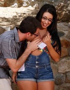 Ava Alvares & James Deen in Naughty Bookworms - Naughty America