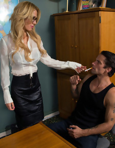 Sarah Jessie & Alan Stafford in Naughty Office - Naughty America