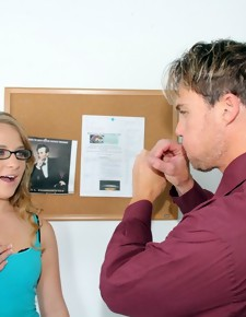 Katie Zane & Justin Magnum in Naughty Bookworms - Naughty America