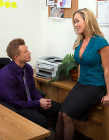 Brandi Love & Bill Bailey in Naughty Office - Naughty America