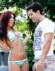Aleksa Nicole & Mikey Butders in My Sister's Hot Friend - Naughty America