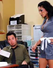 Persia Pele & Tommy Pistol in Naughty Office - Naughty America