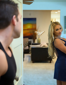 Claudia Valentine & Johnny Castle in My Friend's Hot Mom - Naughty America