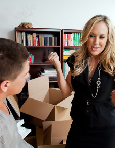 Brandi Love & Bruce Venture in My First Sex Teacher - Naughty America