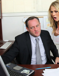 Amber Ashlee & Alec Knight in Naughty Office - Naughty America