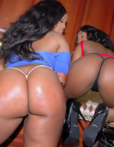 Yasmine Loven Twice Ass Round 2 Gorgeous thick ebony girls with big asses get pounded @ RoundAndBrown™