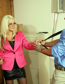 Briana Blair & War Machine in Naughty Office - Naughty America