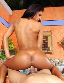 Phat Booty Brazil big ass latin sluts have anal sex with big cock