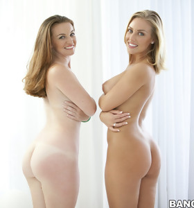 Gorgeous culo, Nicole Aniston and Poison Ivy. Both of these big booty babes love them some cock.