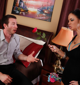 Angelina Valentine & Jordan Ash in Latin Adultery - Naughty America