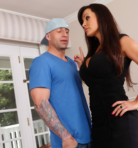 Barry Scott & Lisa Ann in My Dad's Hot Girlfriend - Naughty America
