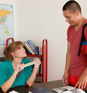 Darla Crane & David Loso in My First Sex Teacher - Naughty America