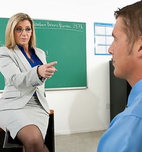 Chris Johnson & Sara Jay in My First Sex Teacher - Naughty America