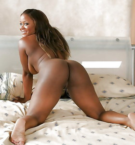 There's no skinny sickly girls here, only bonny black beauties with deliciously round booties