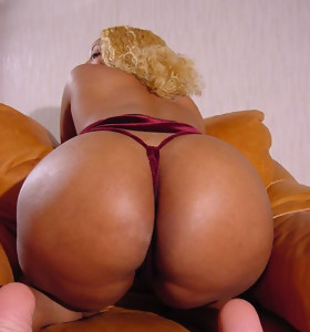 There's hardly ever skinny white girls here, only gorgeous black beauties with deliciously round booties